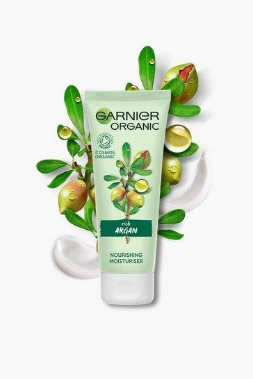 White Garnier Organic Argan Moisturiser 50ml Vegan
