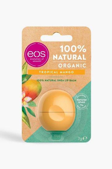 Orange EOS Organic Tropical Mango Lip Balm