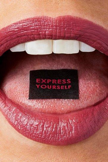 Brown Sleek Soft Matte Lip Click - Boss Mode