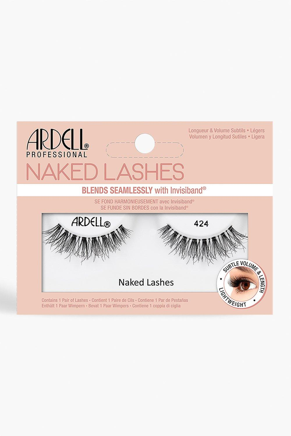 Ardell Womens Ardell Naked Lashes 424 - Black - One Size, Black