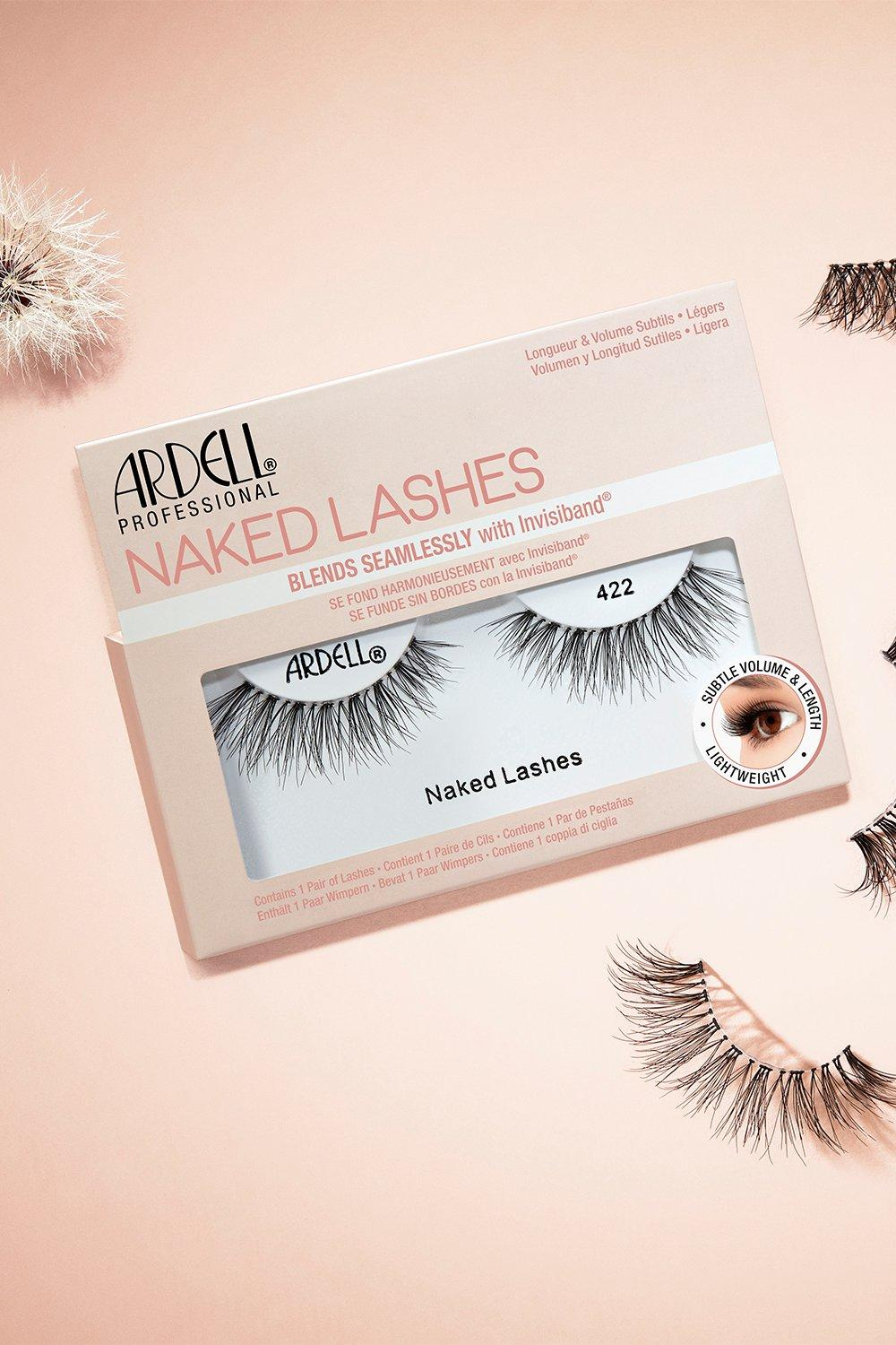 Ardell Womens Ardell Naked Lashes 422 - Black - One Size, Black