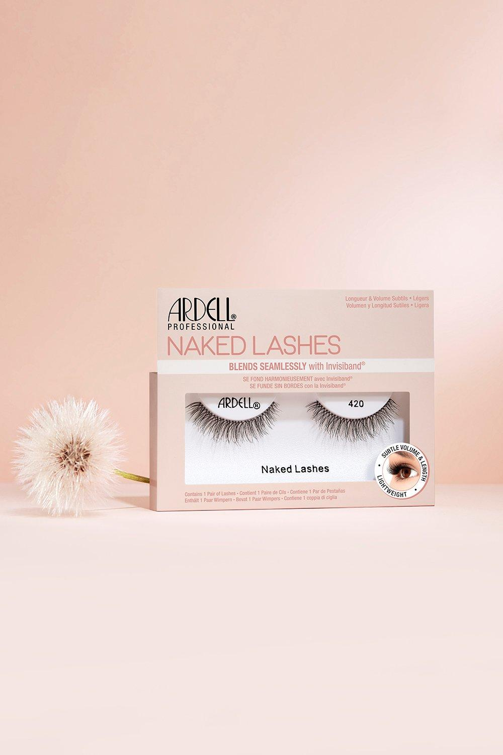 Ardell Womens Ardell Naked Lashes 420 - Black - One Size, Black