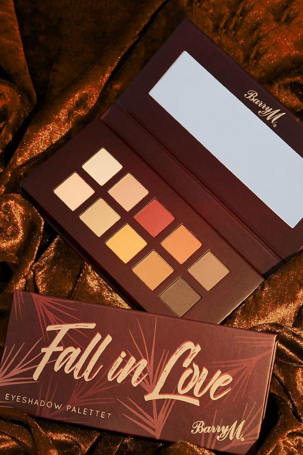 Barry M Womens Barry M Fall In Love Eyeshadow Palette - Brown - One Size, Brown