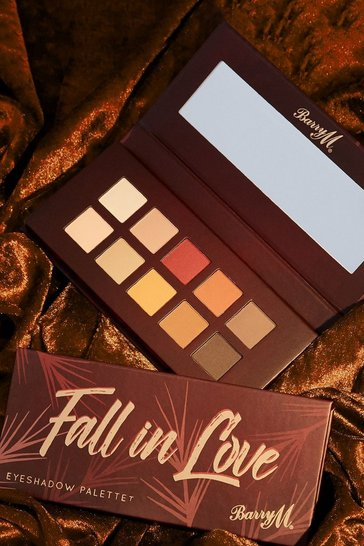 Brown Barry M Fall In Love Eyeshadow Palette