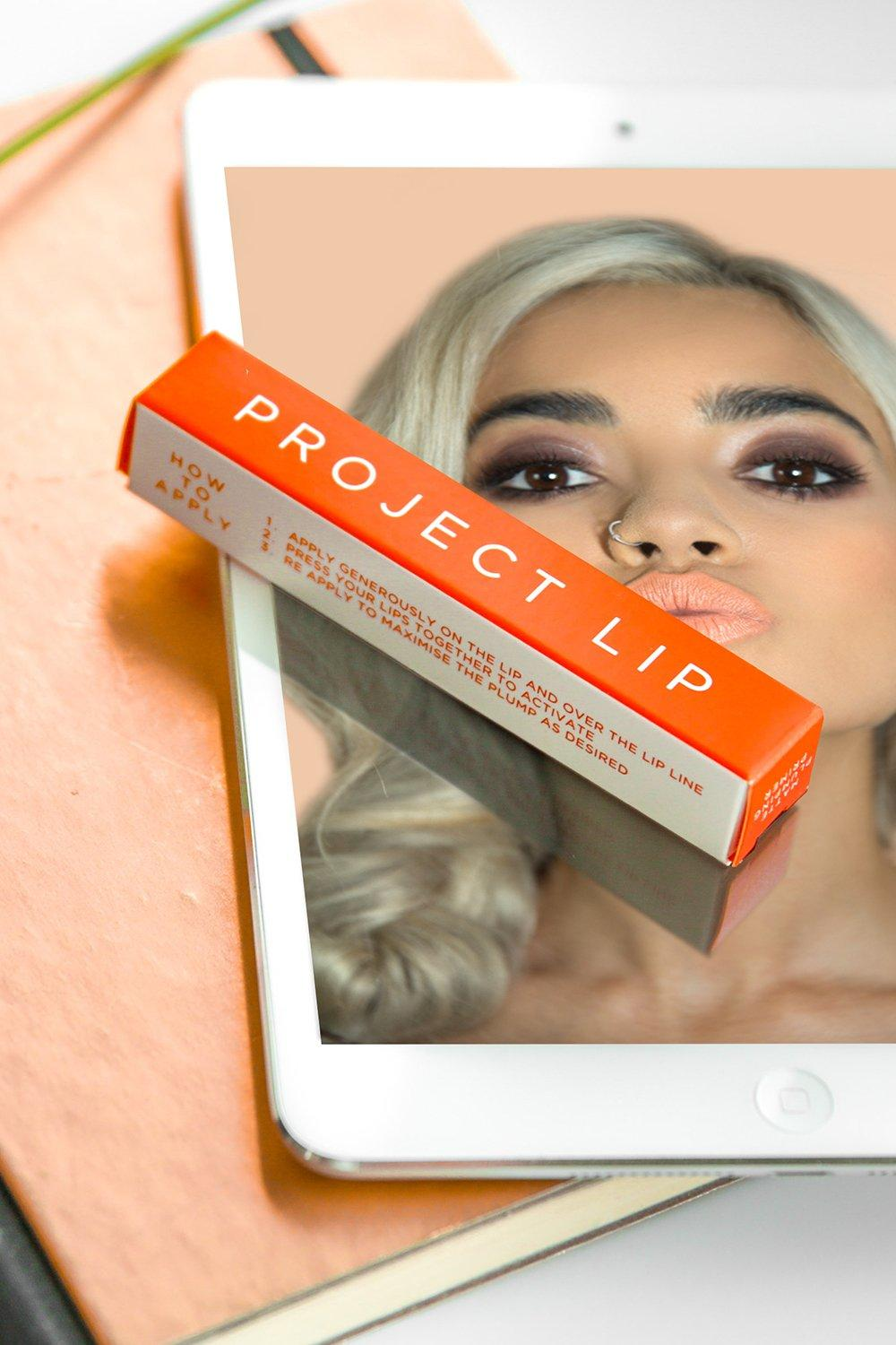 Project Lip Womens Project Lip Matte Plumping Primer - White - One Size, White