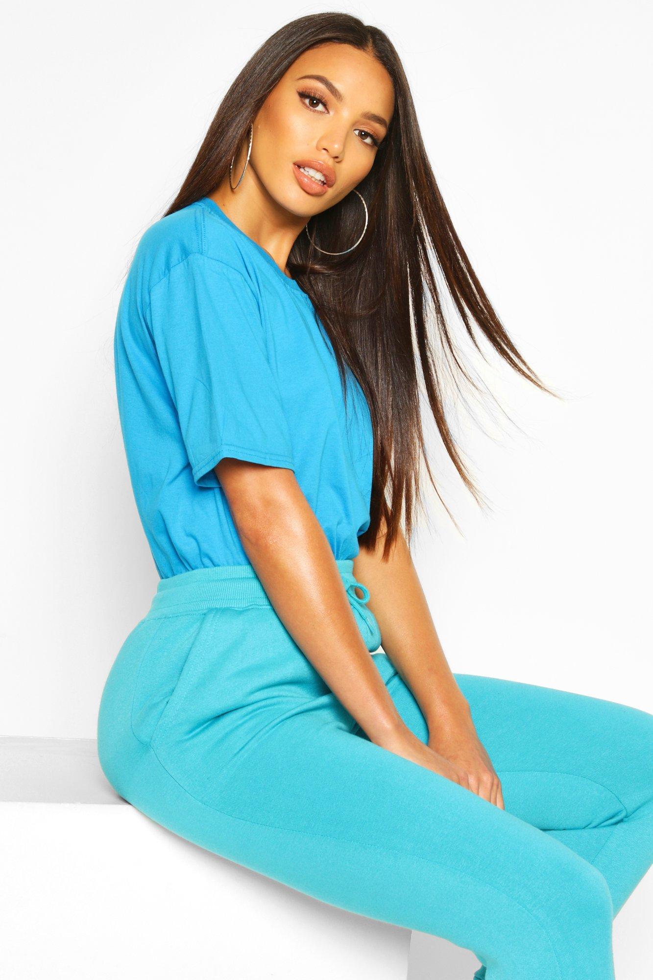 Womens Oversized T-Shirt - Blau - M, Blau - Boohoo.com