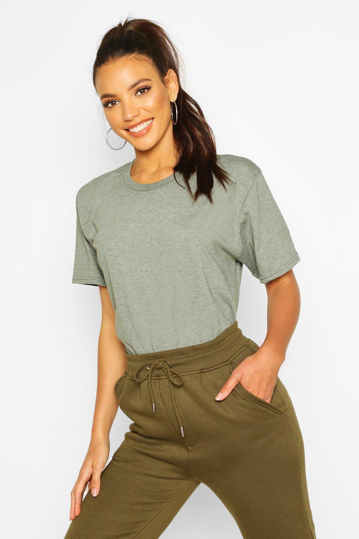 Womens Oversized T-Shirt - olivgrün - L, Olivgrün - Boohoo.com