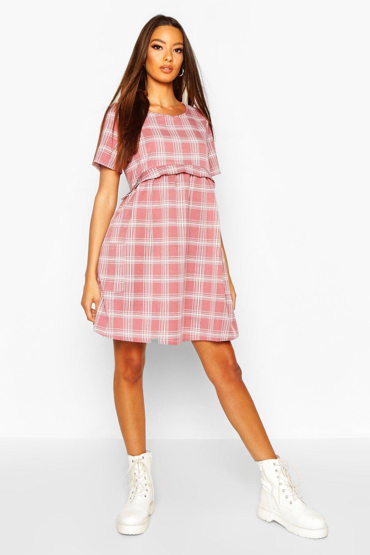£5 Dresses Gingham Smock Dress