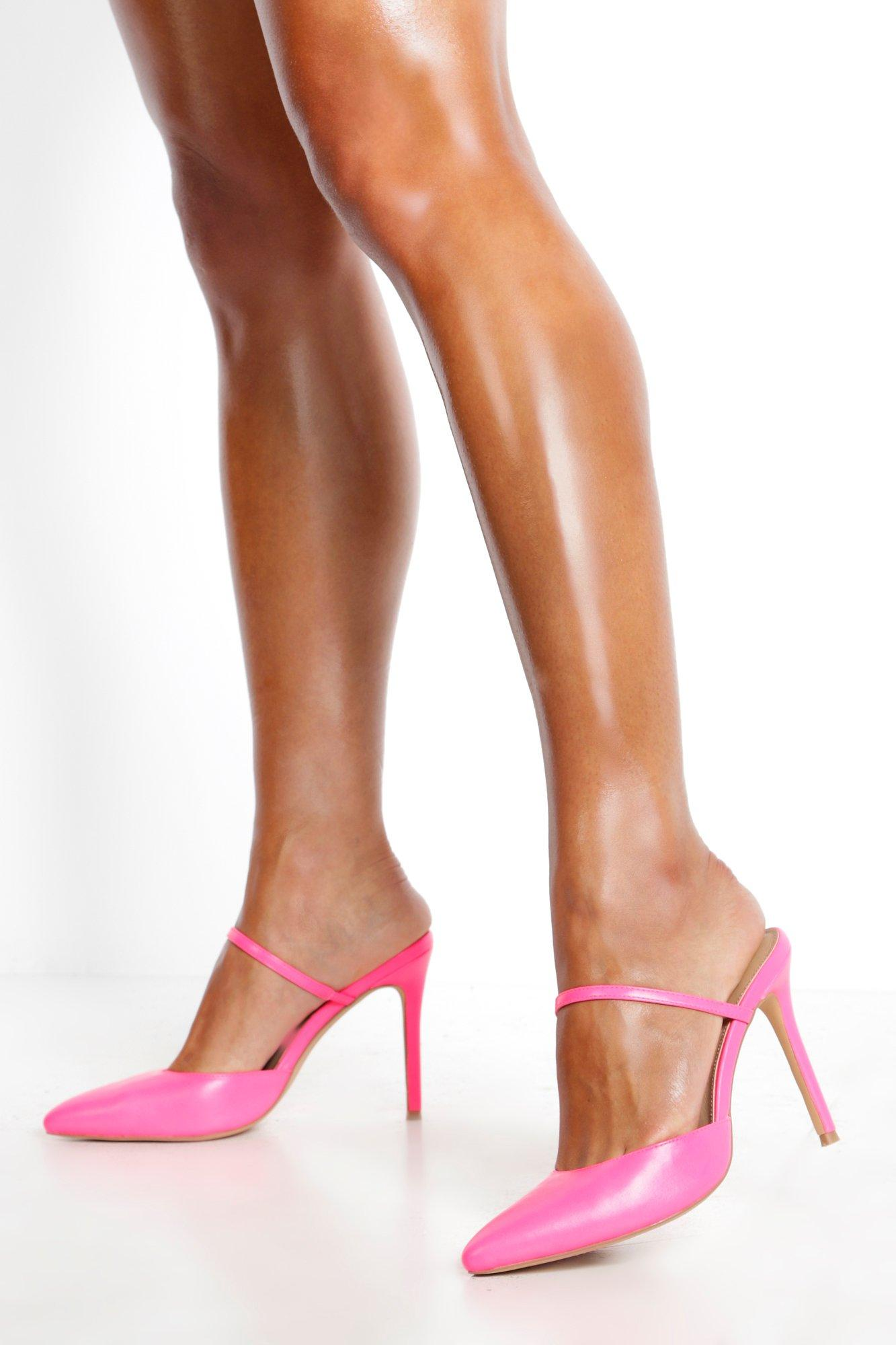 Don't Miss Out Pointed Mule Court Shoes