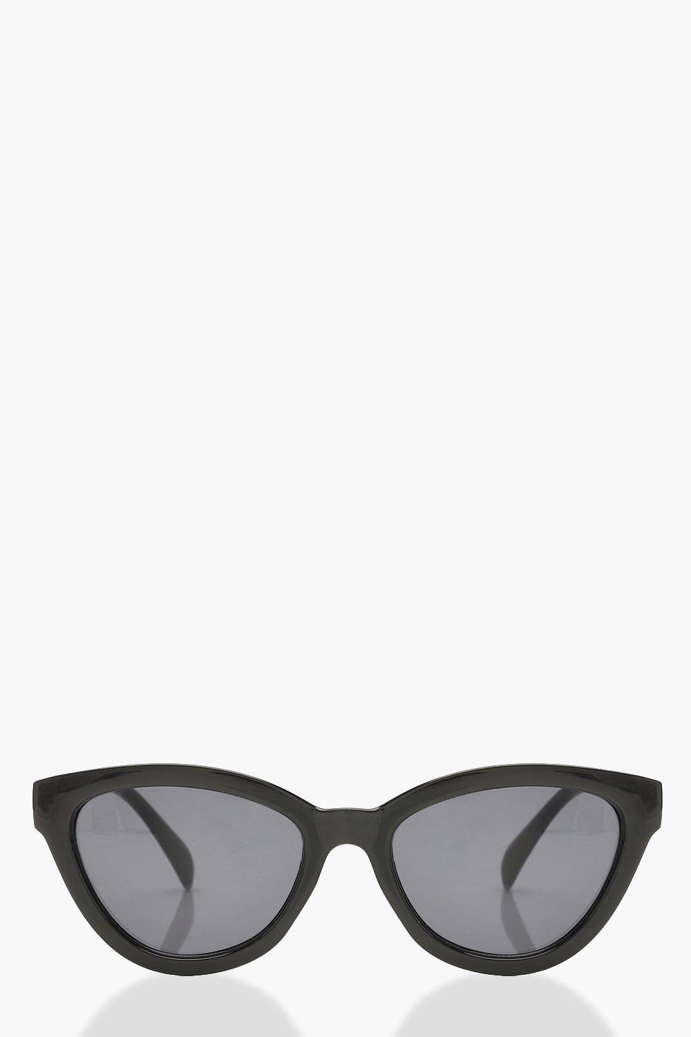 Womens Sale Chunky Frame Oversized Sunglasses & Pouch