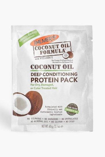White Palmer's Coconut Oil Protein Pack 60g