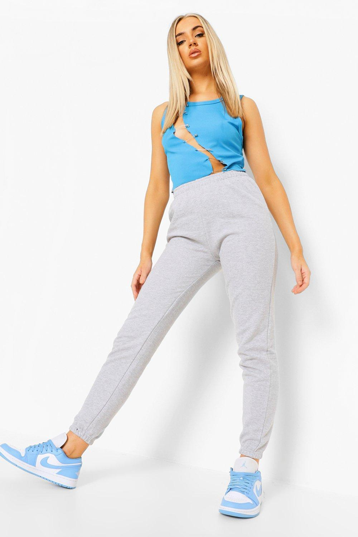 Womens Einfache Jogginghose - grau - 42, Grau - Boohoo.com