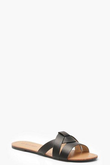 Black Asymmetric Sliders