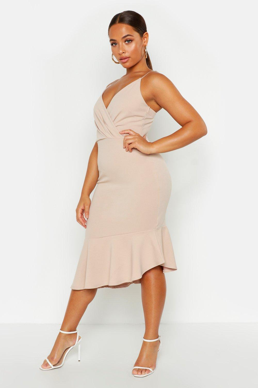 £5 Dresses Ruffle Midi Dress