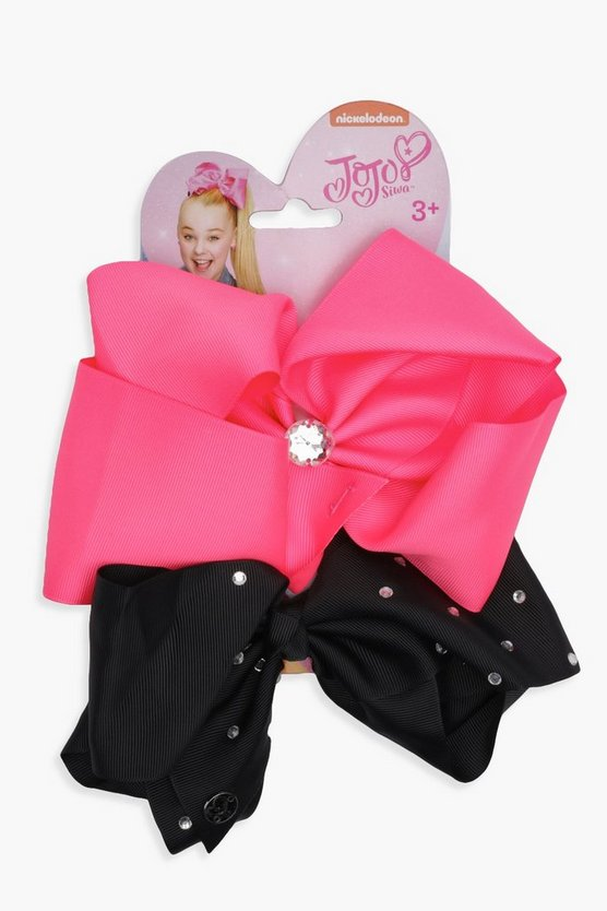 Girls JoJo Bow 2 Pack Set