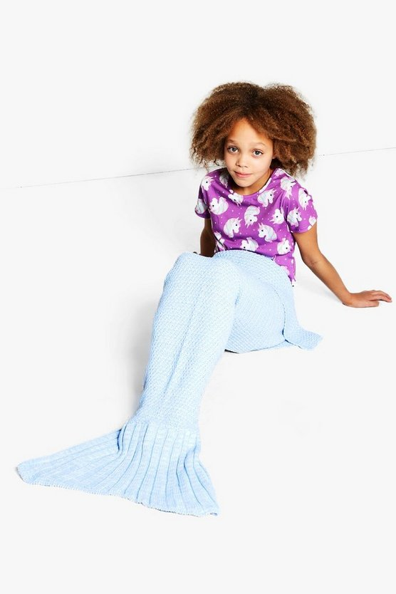 Girls Mermaid Blanket