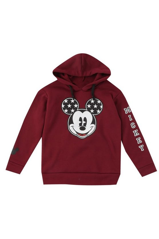 Boys Disney Mickey Over The Head Hoodie