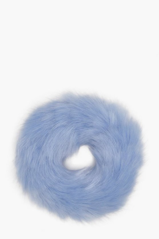 Girls Faux Fur Scrunchie