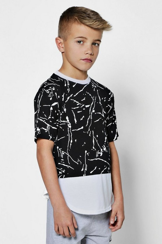Boys Paint Splatter T-Shirt