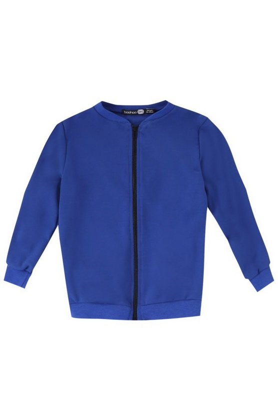 Boys Jersey Bomber Jacket