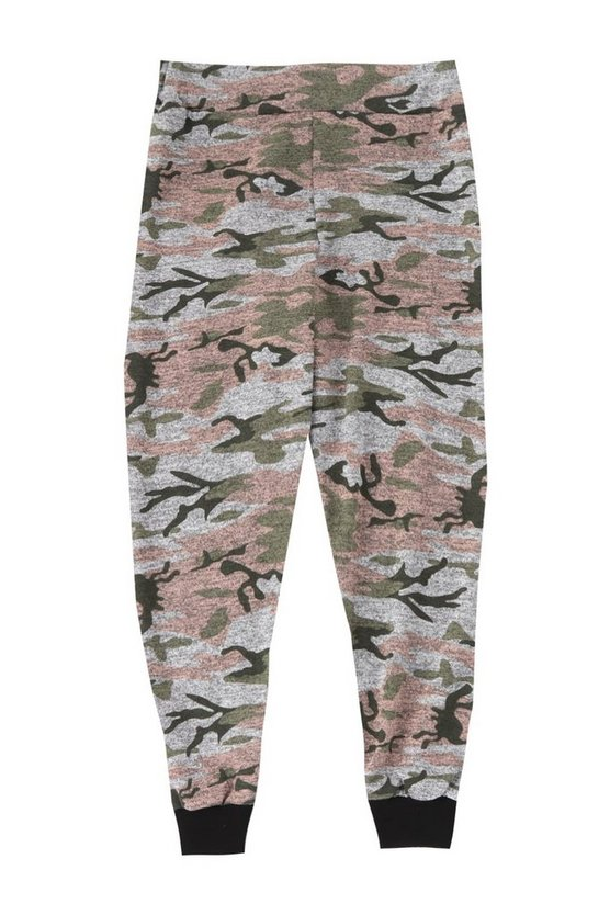 Boys Washed Camo Jogger
