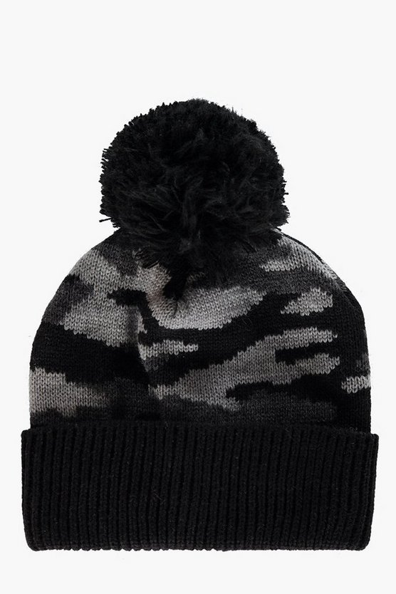 Boys Camon Bobble Beanie