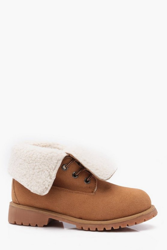 Boys Real Suede Lace Up Boot