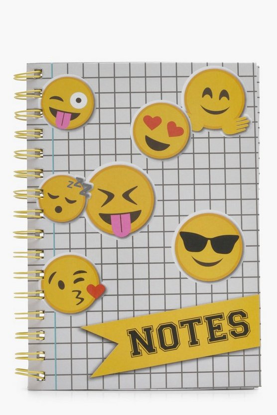 Girls Emoji A5 Notepad