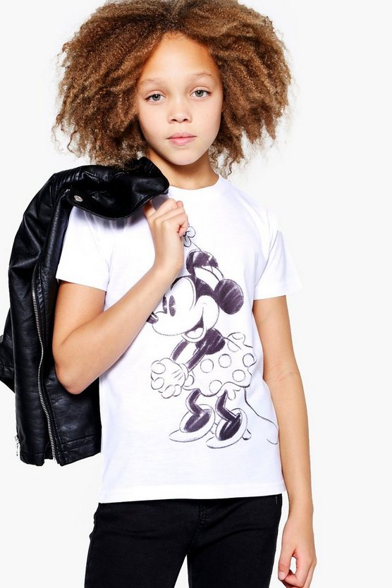 Girls Sketch Sublimination Oversized Tee