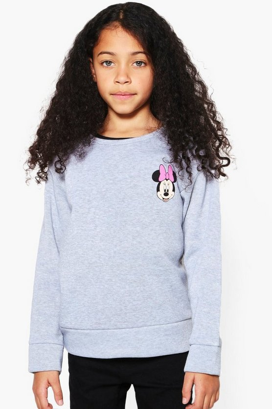 Girls Disney Minnie & Daisy Front & Back Sweat