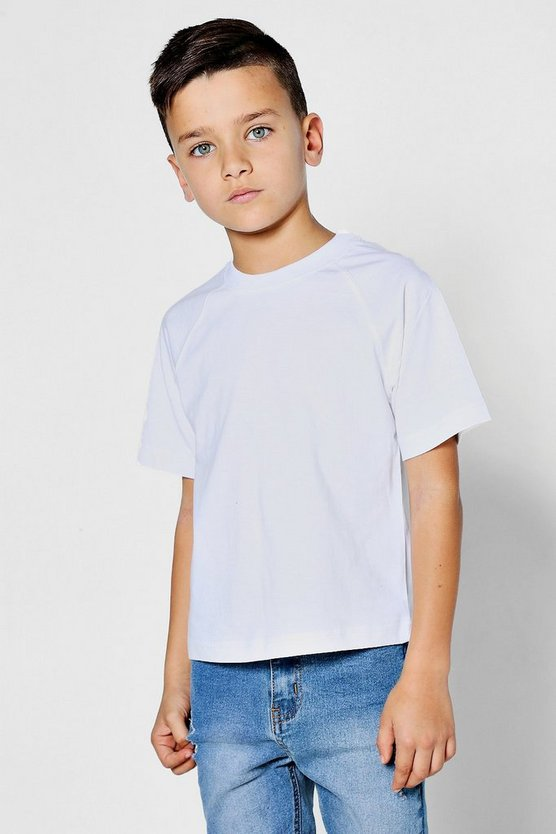 Boys Basic Crew Neck T-Shirt