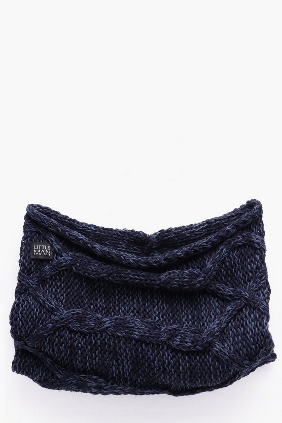 Boys Cable Snood
