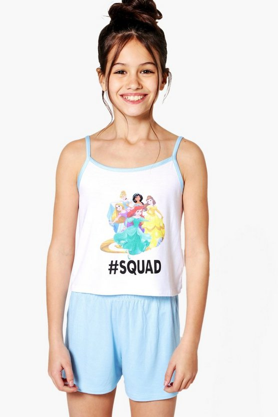 Girls Disney Princess Squad Nightwear Set