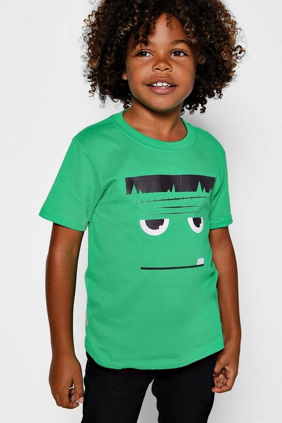 Boys Halloween Monster T-Shirt