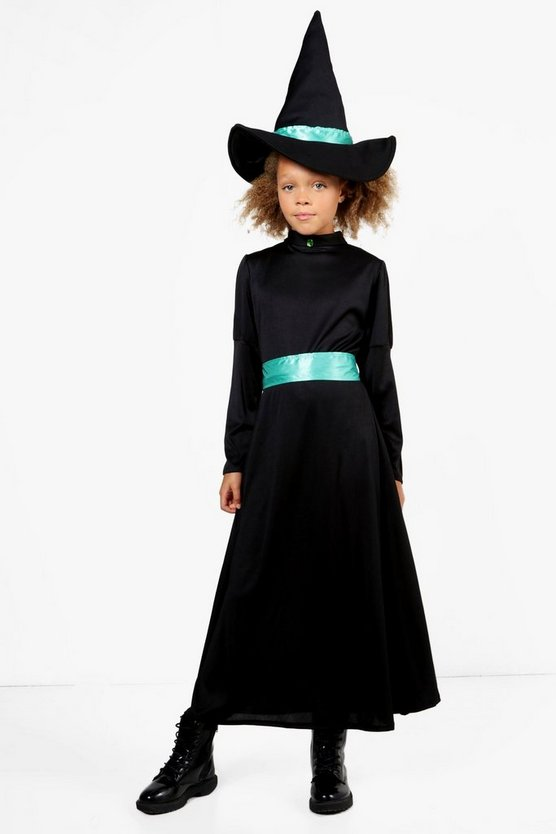 Girls Witch Costume Set