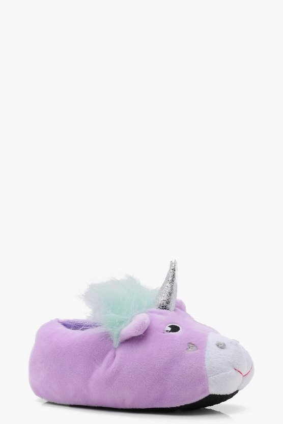 Girls Unicorn Slippers