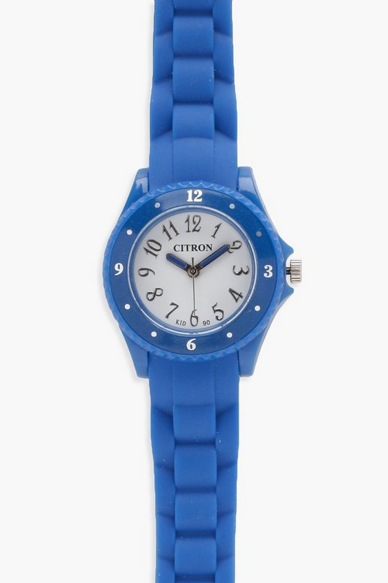Boys Rubber Strap Watch