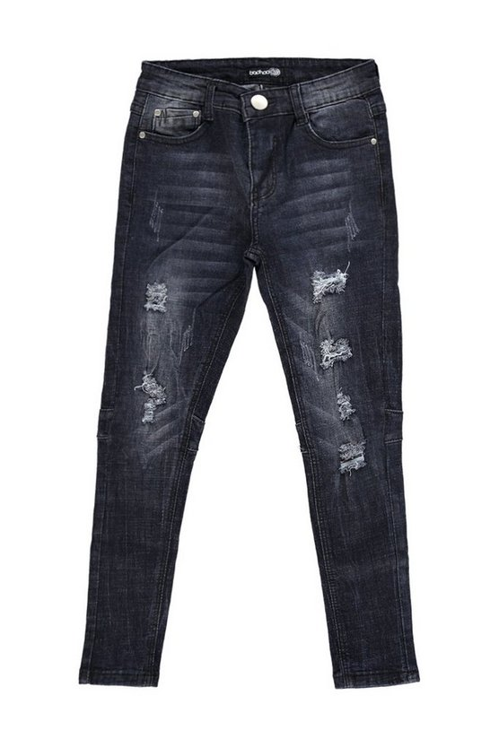Boys Distressed Skinny Jeans