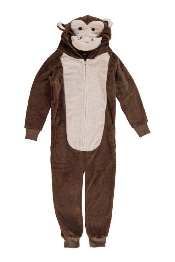 Boys Cheeky Monkey Novelty Onesie