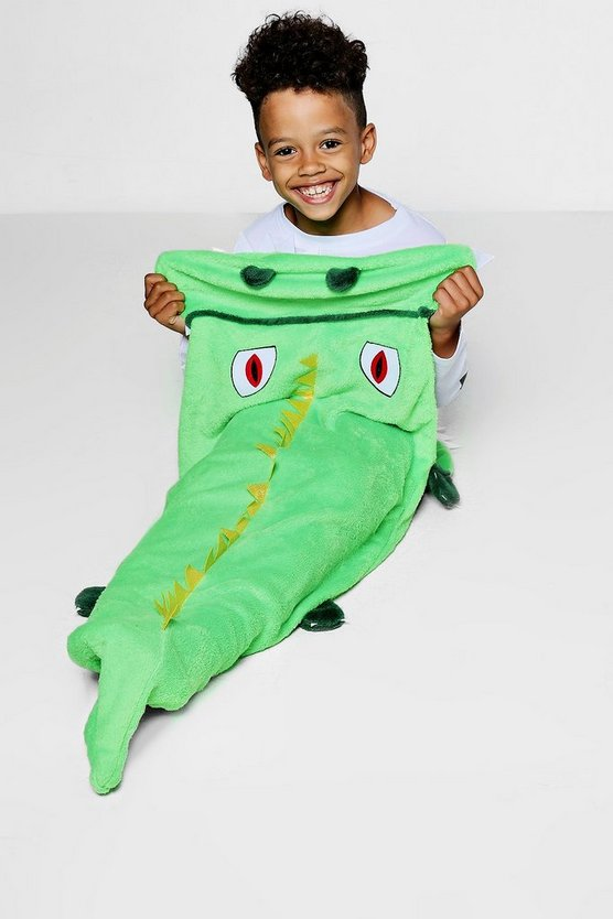 Boys Supersoft Crocodile Blanket
