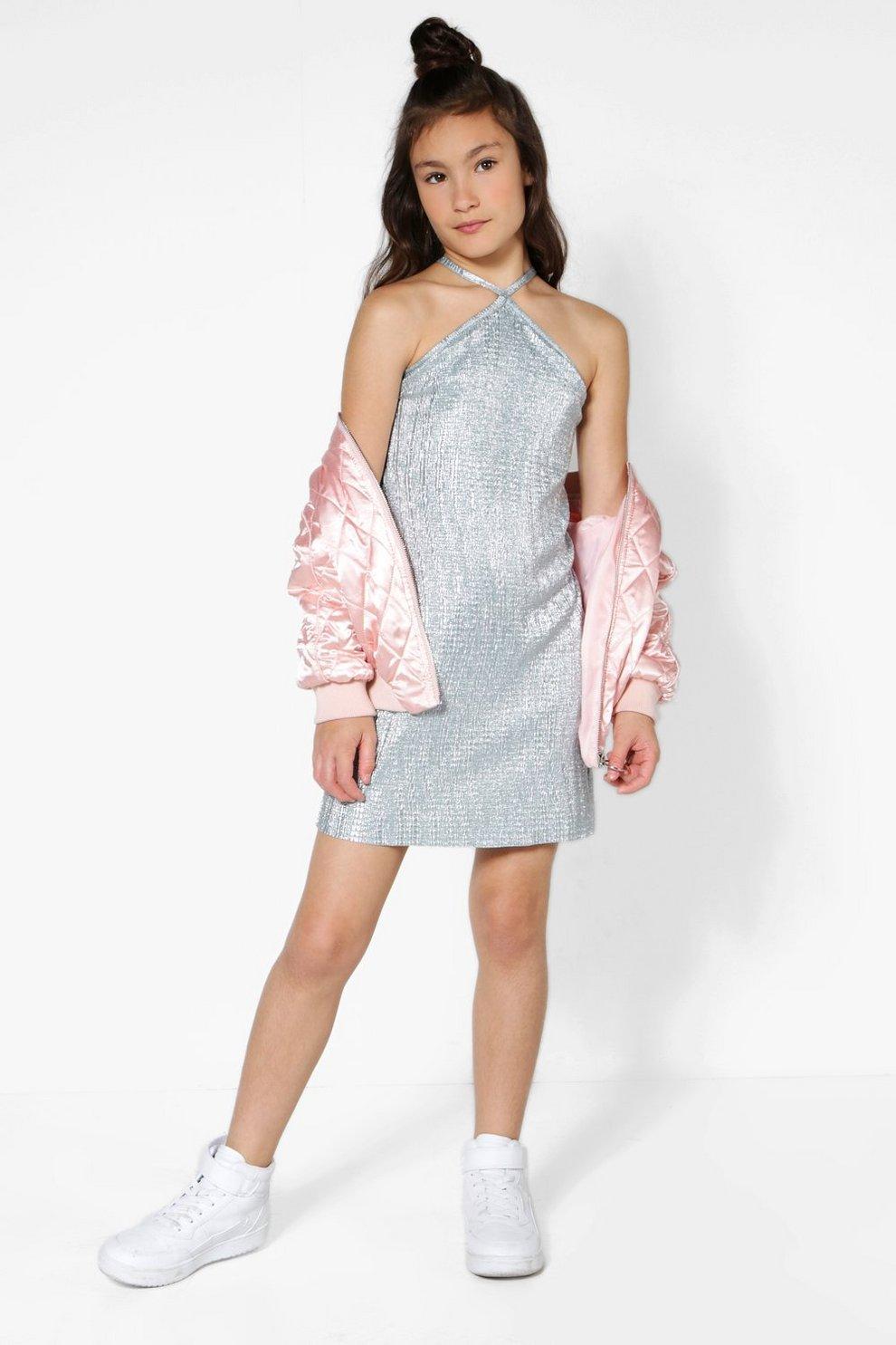 Girls Mini Dress Model