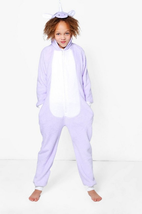 Girls Magic Unicorn Onesie