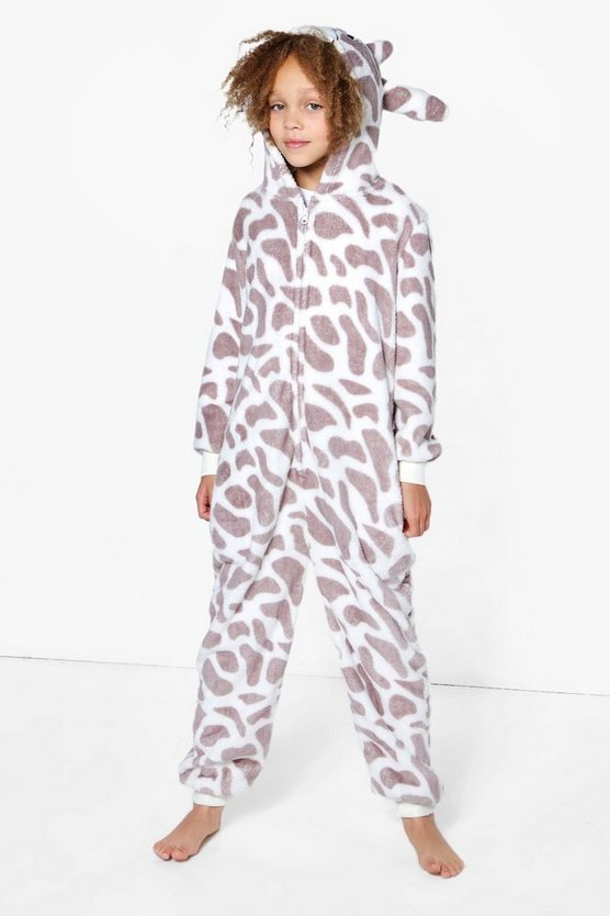 Girls Giraffe Novelty Onesie