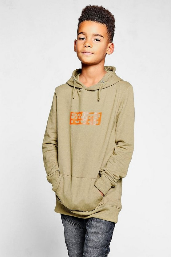 Boys Youth Print Hoody