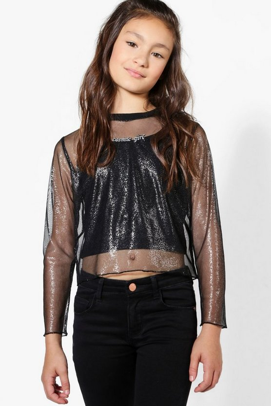 Girls Cosmic Child Two Piece Top