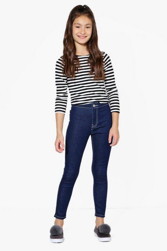 Girls High Rise Skinny Tue Jeans