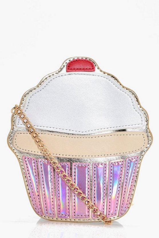 Girls Cupcake Cross Body Bag