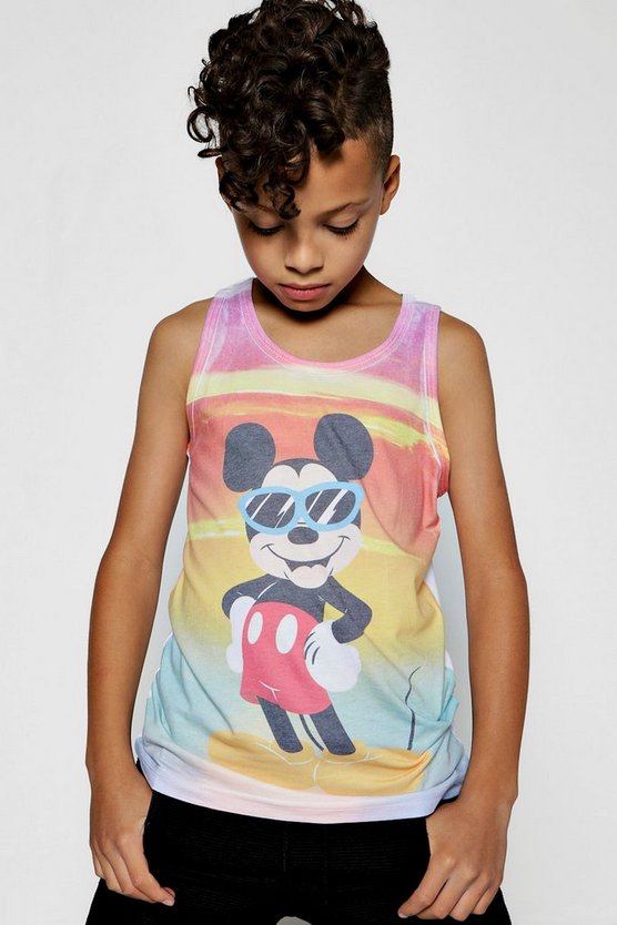 Boys Disney Mickey Sublimation Vests