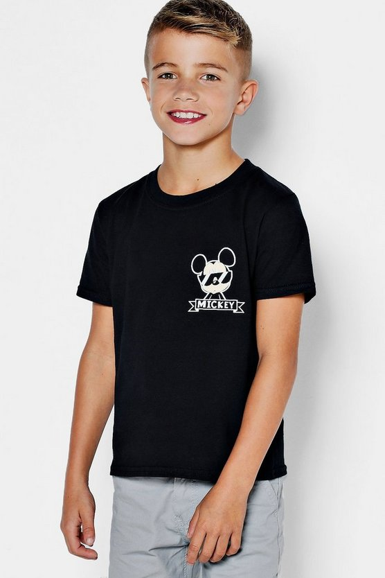 Boys Disney Mickey World Tour Tee