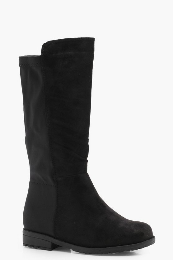 Girls Knee High Boot